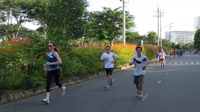Kicking arse! - Courtesy of HCMC Run